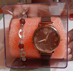 Kit de relógio feminino