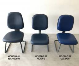 Cadeiras de Escritório Base Fixa - Sala de Espera, Recepção