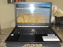 Notebook Acer Aspire 5 A515-51-36VK - 9 meses de uso - parcelo em 3x sem juros no cartão