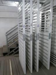 Portão de Pedestre galvanizado