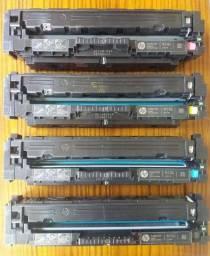 Toner HP cf410A cf411A cf412A cf413A (410A) vazio original nunca recarregados