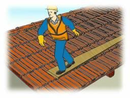 Manutenção de telhados em geral