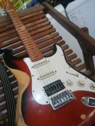 Guitarra sx vintage c/ seymour duncan..top