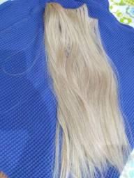 Mega hair 5 telas cabelo orgânico $ 70 reais