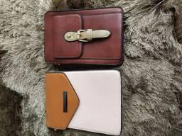 Kit com 02 bolsas modelo neckbag novas