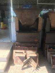 Formas lisas para fabricação de churrasqueiras