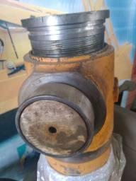 Cilindro usinagem máquina pesadas