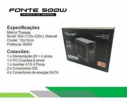 Fonte Real ATX 500W Tronos Gamer