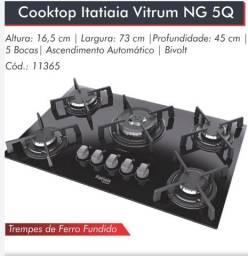 Cooktop Vitrum 5bcs Itatiaia*