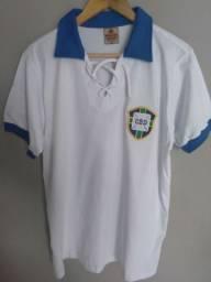 Camisa retrô Seleção Brasileira M (1930) - Ganem Sports