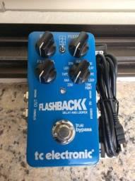 Flashback Delay And Looper Tc Eletronic como novo na caixa parcelo