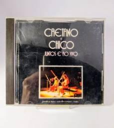 CD Caetano e Chico Juntos e Ao Vivo 1988 Polygram Philips Raro Excelente!