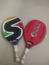 Raquetes de beach tennis sexy