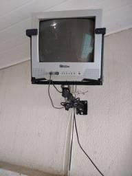 "Tv Philco""14"" Preto e Branco sem controle remoto"