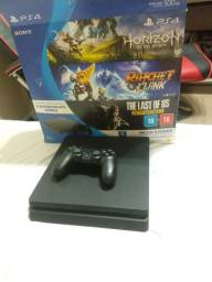 Bundle Playstation 4 com 3 jogos e 1 controle