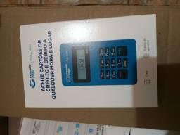 Vende-se máquina de cartão de crédito do mercado pago, 30 reais
