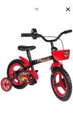 Bicicleta aro 12 infantil com rodinhas