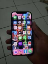 IPhone x256 giga  tem um linha mais tá td