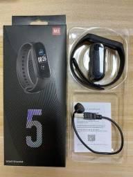 Smartband Pulseira Inteligente M5 Monitor Cardíaco Touch Tela Colorida