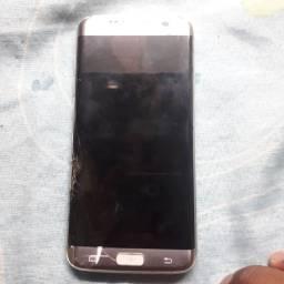 Samsung S7 com atela trincada