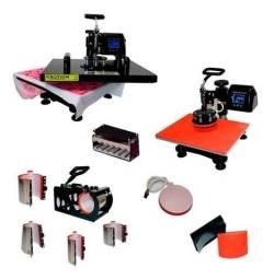 Kit 10x1 Prensa Térmica para sublimação 220volts