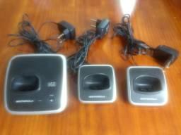 Base + Ramal Telefone Motorola - Entrego