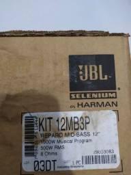Kit reparo JBL Selenium 12mb3p mid-bass 12