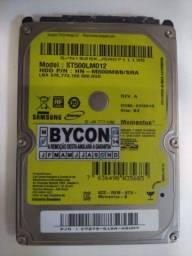 HD 500GB para notebook