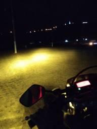 Led H4 amarelo ouro 3000k para motos