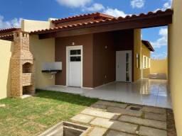 Gereraú, Itaitinga - Casas Novas, 83m2, 2 Qtos, Varanda e 2 Vagas