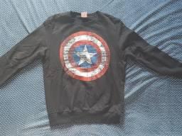 Moletom do Capitão América