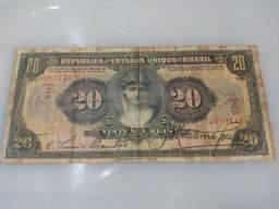Cédula 20mil Reis