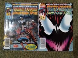 Homem Aranha: Carnificina Total - mini série completa em 2 edições