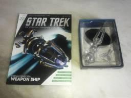 Star Trek - Edição 22 - Krenim Temporal Weapon Ship (Eaglemoss)