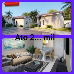 CA70d Condomínio Fechado casa com Suíte. Boulevard 2