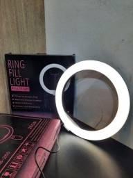 Título do anúncio: Ring light com tripé e suporte de celular (Lojas WiKi)