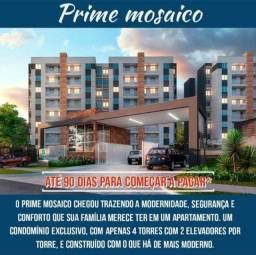 Prime Mosaico Lançamento Suíte/Varanda Gourmet/Porcelanato Financia