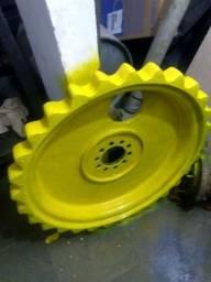 Roda motriz de perfuratriz