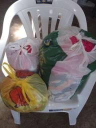 Lote de roupas  usadas Uberlândia