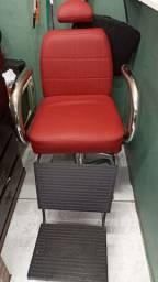 Cadeira hidráulica e Reclinavel