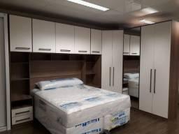 Quarto modulado cama casal/queen