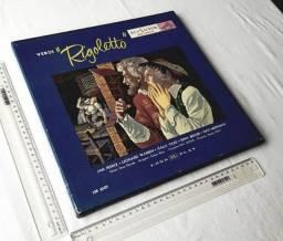 Raridade - Coleção Box Discos - Giuseppe Verdi - Rigoletto - RCA Sêlo Vermelho