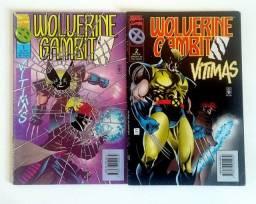 Wolverine e Gambit - Vítimas 2ed   [Marvel | HQ Gibi Quadrinhos]