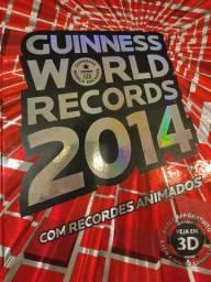 Livro Guinness World Records 2014 novo