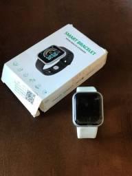 Relógio smartwatch branco