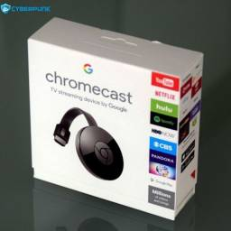 Chromecast G2 para televisão de transmissão sem fio WiFi Hdmi TV