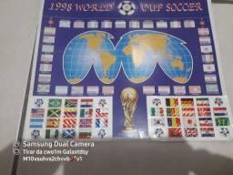 Cartela de Adesivos Copa de 2018