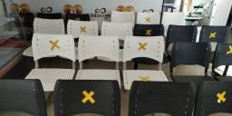 Título do anúncio: Conjuntos de Cadeiras com 3 lugares