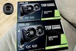 Placa de Vídeo Asus Gtx 1660 Super Tuf Gaming 6Gb [Somos loja]