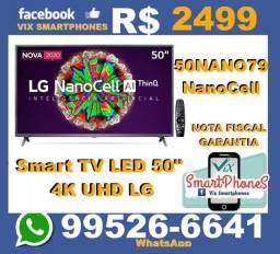 Smart TV LG 50 4K NanoCell e garantia  /*illzo